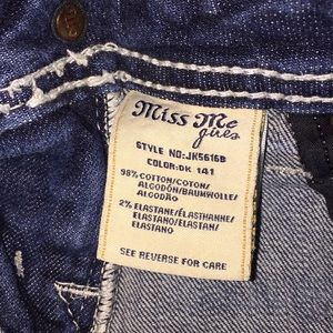 Miss Me Bottoms - Girls Miss Me Boot Jeans